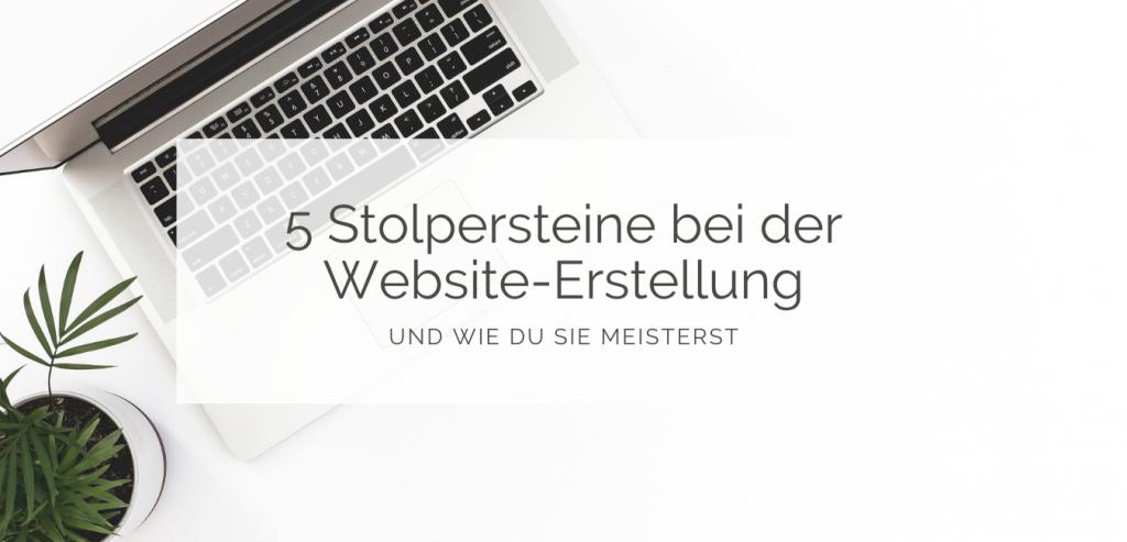 Stolpersteine Website-Erstellung