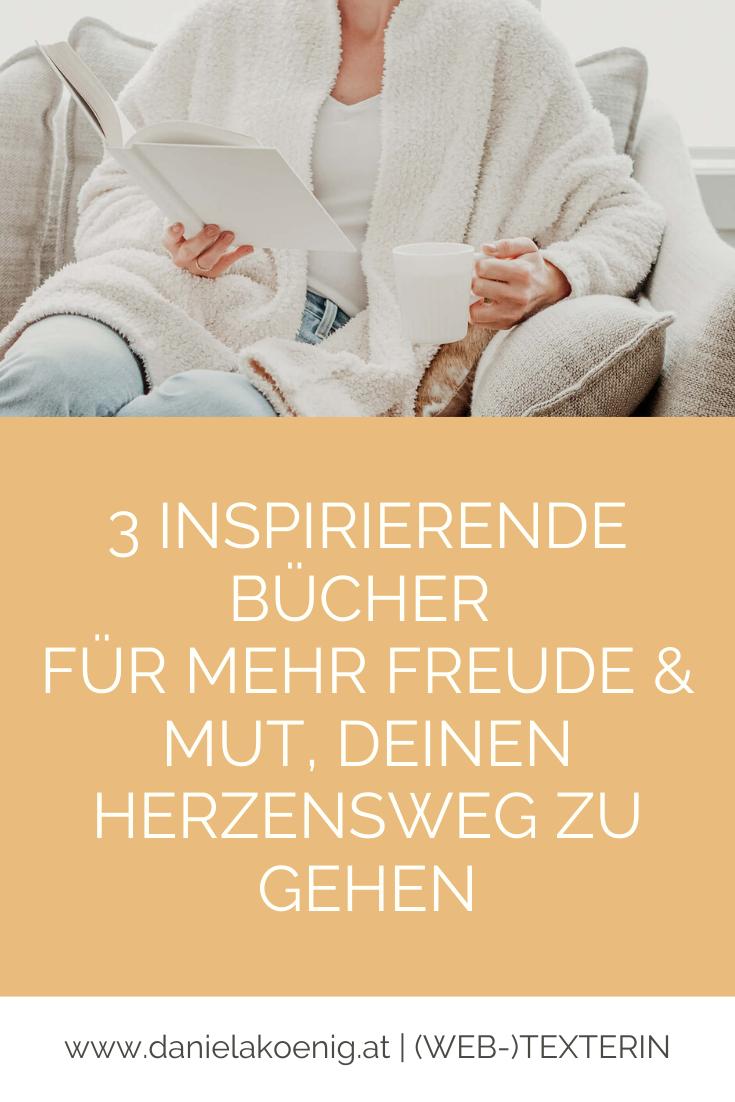 3 inspirierende Bücher für mehr Freude & Mut Laura Seiler Thomas Brezina John Strelecky